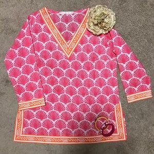 Fab Barbara Gerwit Cover Up/Tunic! Yummy fabric!